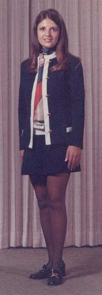 Stewardess Sonja